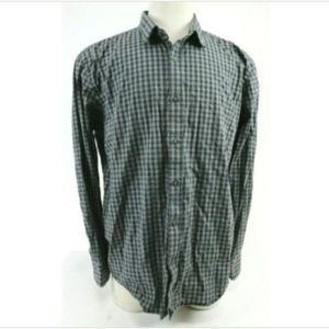 Untuckit Men's Dress Shirt Size 2XL Black Gray